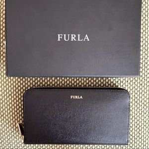 Brand New FURLA Saffiano Continental Leather